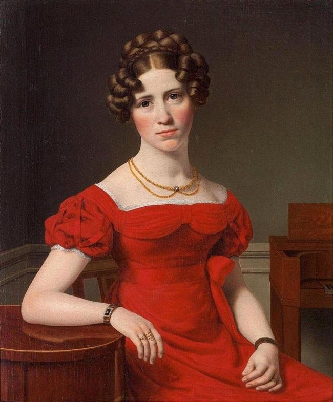 Портрет Луизы Кристины Фугль.