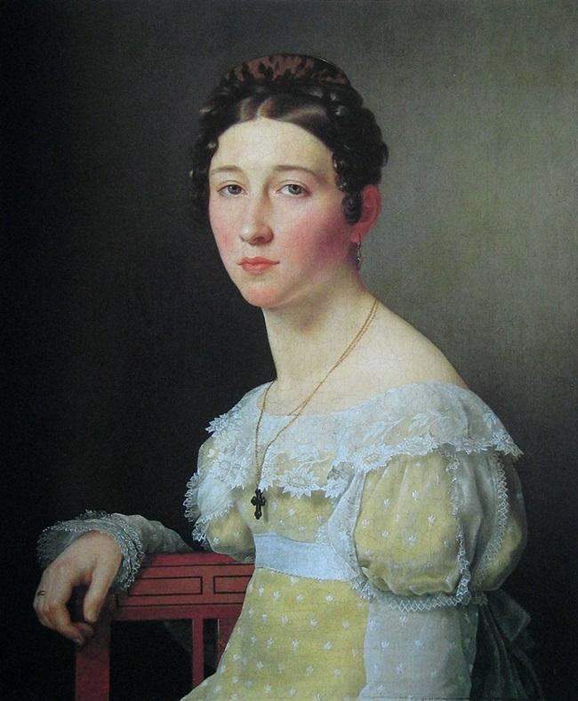 Портрет Эмилии Генриетты Массманн.