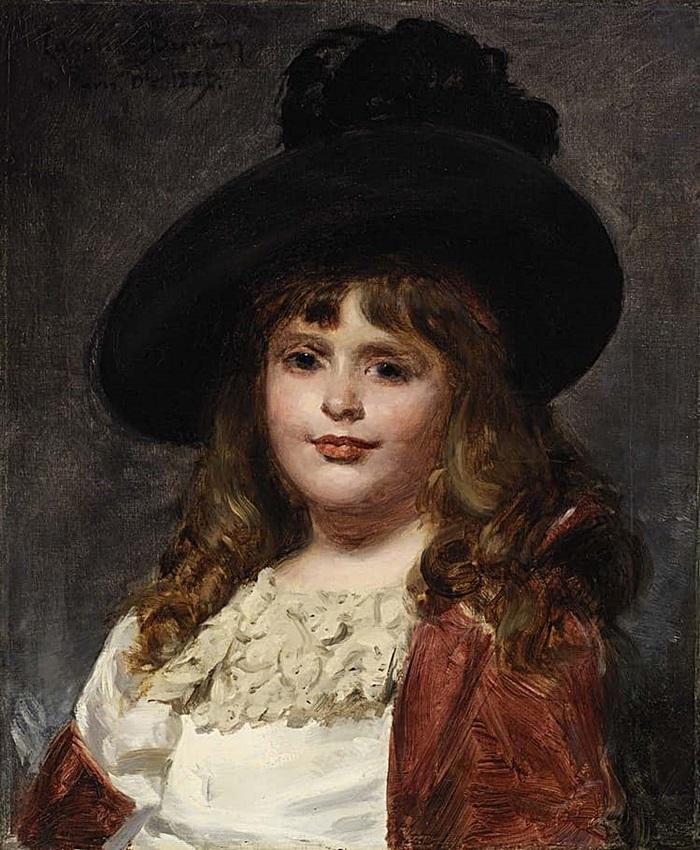 Лаура в семь лет