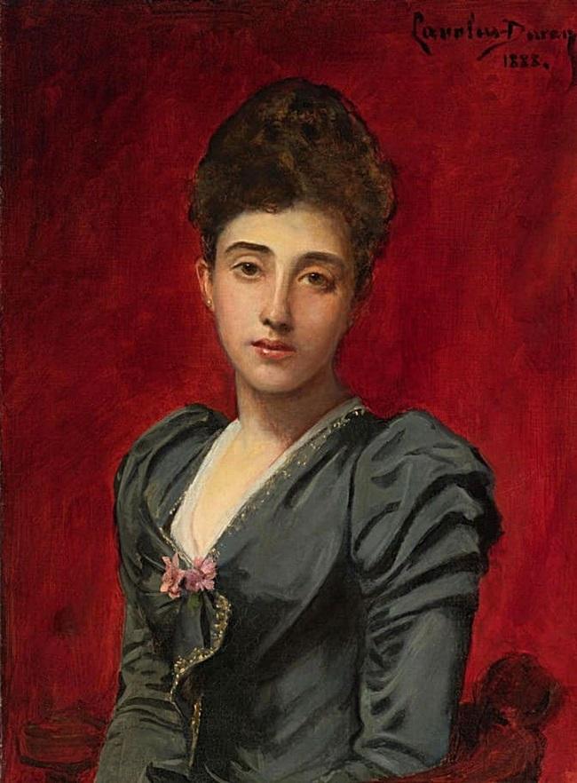 Портрет графини Лили де Русси де Саль