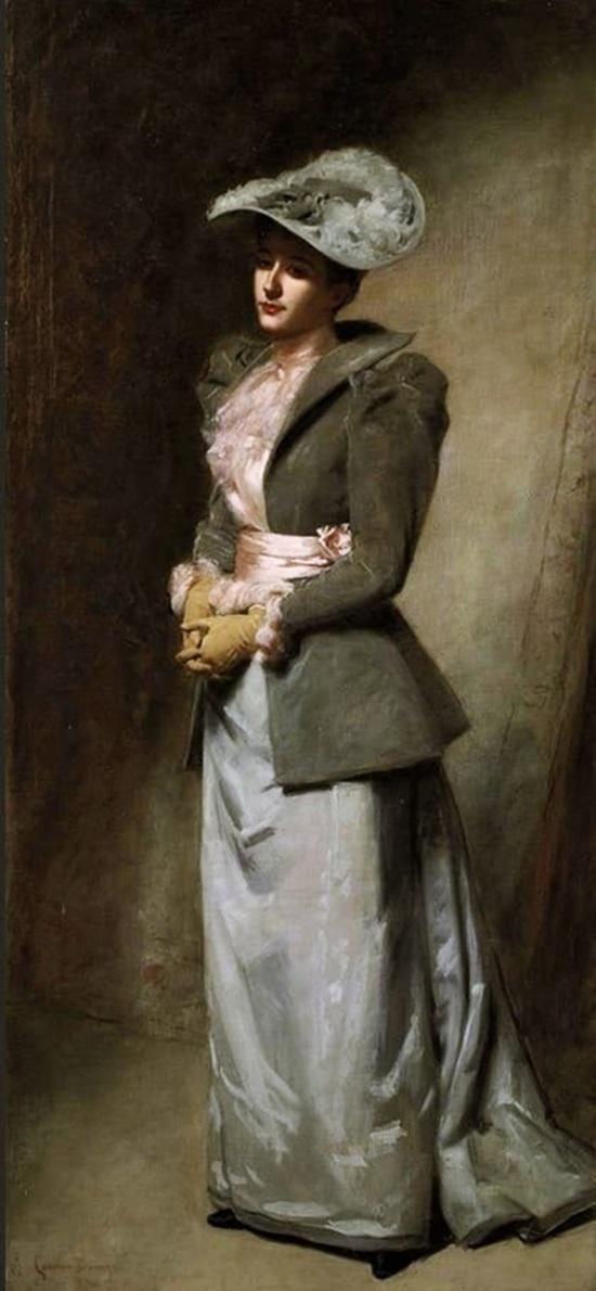 Портрет дочери художника Сабины