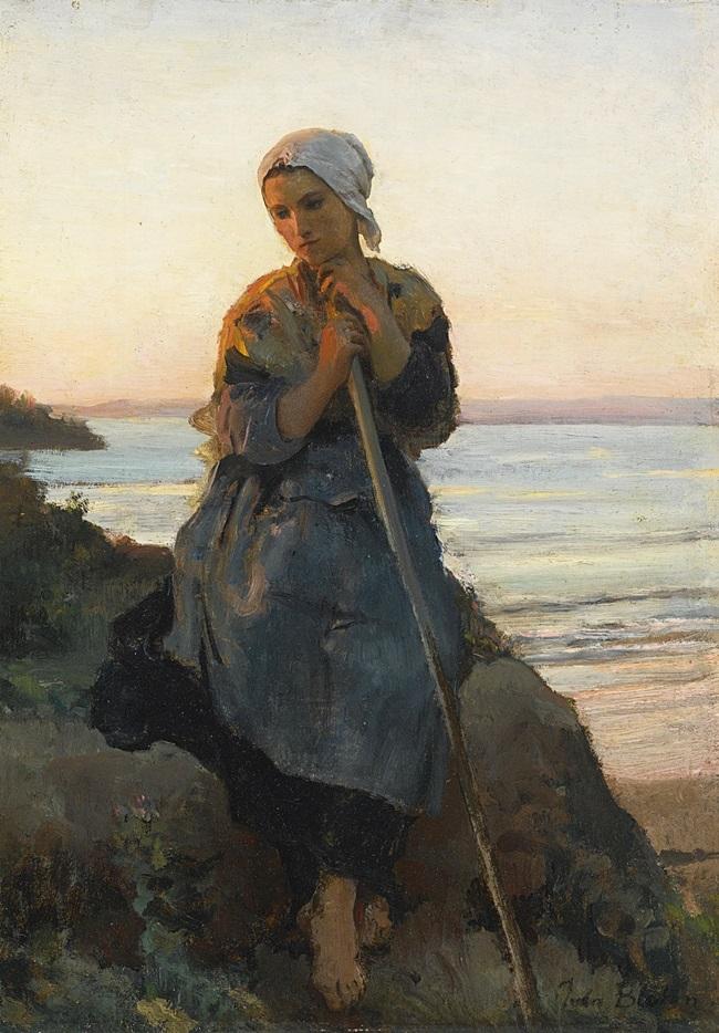 Крестьянка из Дуарнене.