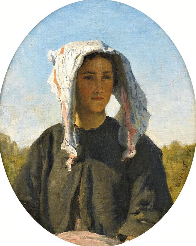 Портрет молодой крестьянки из Бордо.