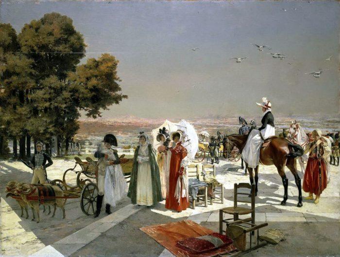 Прием в Компьене в 1810 г
