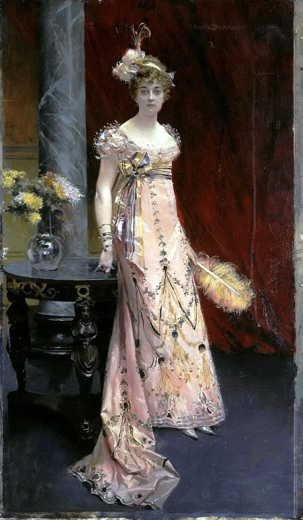 Портрет герцогини Доры Евгеньевны Лейхтенбергской