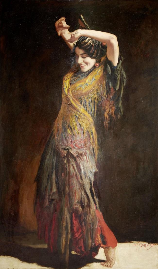 Танцовщица фламенко.