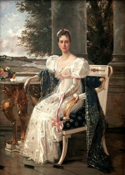 Портрет Великой княгини Елизаветы Федоровны