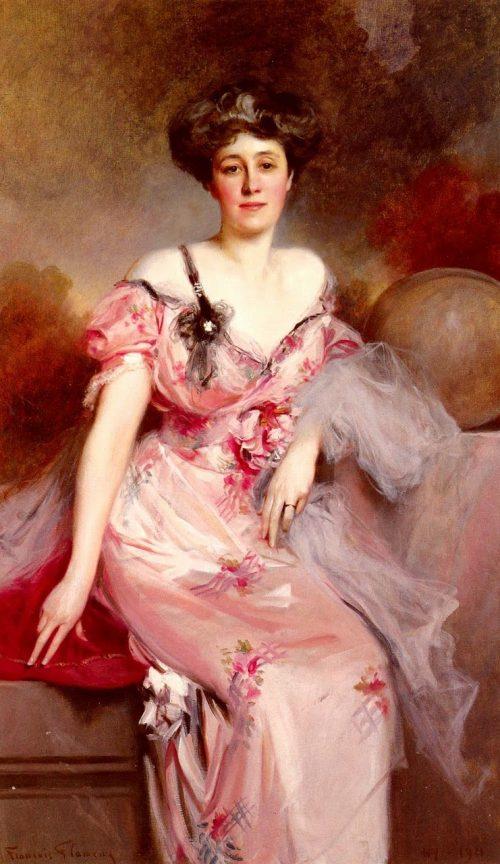 Портрет мадам Д.