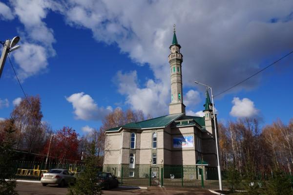 Новая мечеть в Деме