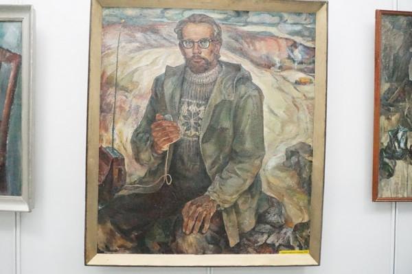 Портрет геофизика Смирнова.1976г.