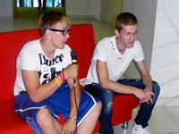 Ведущие проекта Культиватор: Никита и Илья