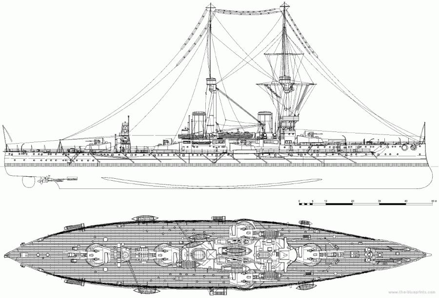 hms-bellerophon-1909-battleship