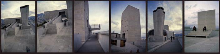 Марсельский блок. Крыша