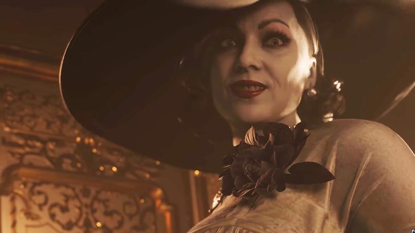 Вампирша леди Димитреску из игры Resident Evil 8.