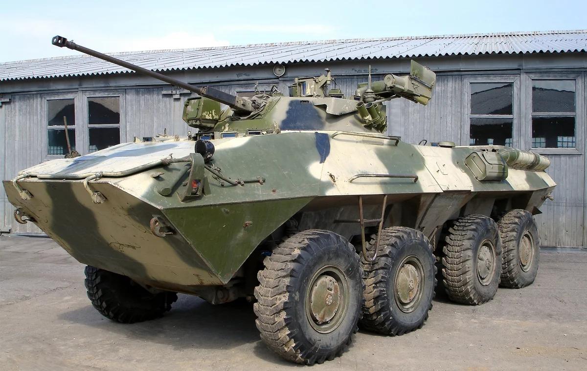 Красавчик БТР-90