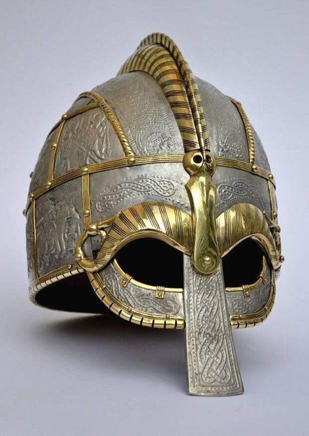 Пишут, что это шлем вендельской эпохи