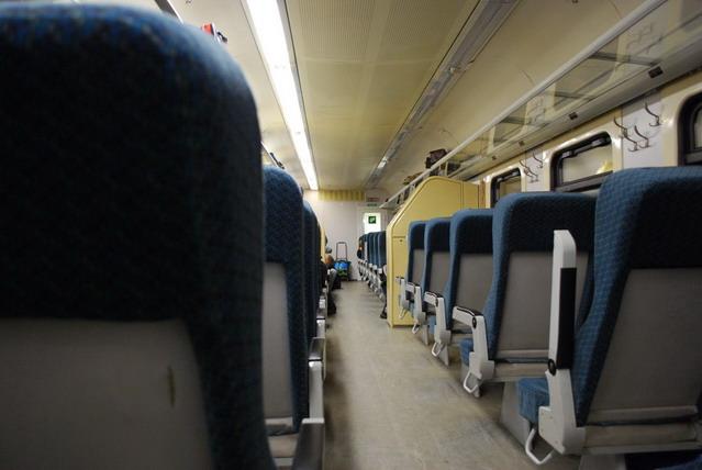 Где можно найти схему расположения мест (с нумерацией) в сидячем вагоне поезда РЖД 603 Москва-Смоленск.