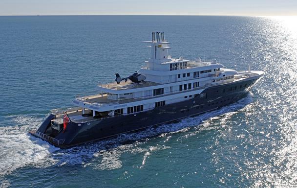 «Зеленая» яхта Сулеймана Керимова