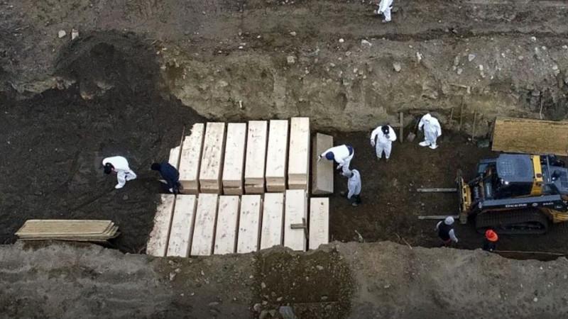 Остров Харт. Массовые захоронения погибших от ковида