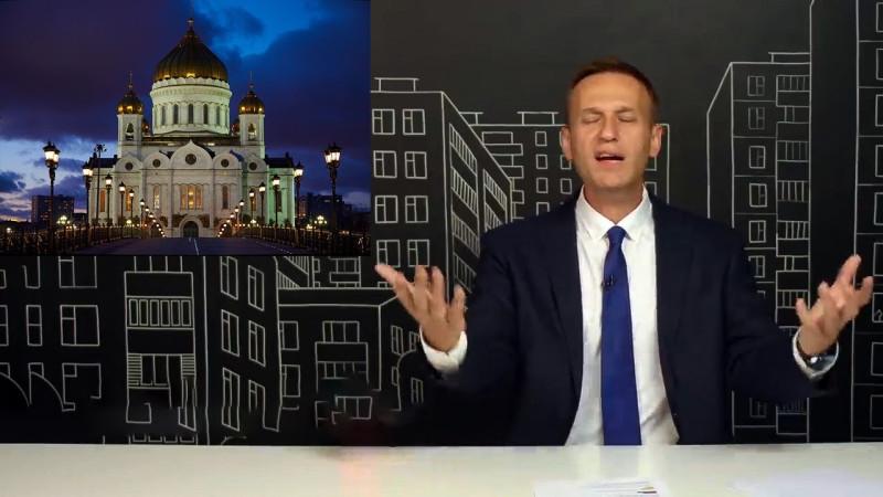 Кремль: Навальный сравнивает себя с Иисусом
