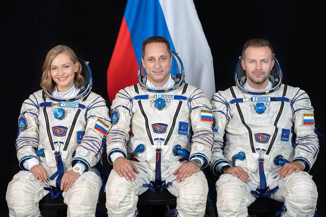 Клизма: космонавтке-актрисе Пересильд испортили пиар