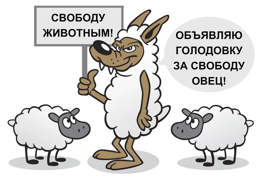 Не защитники животных, а волки в овечьей шкуре.
