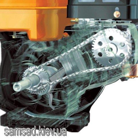 Двигатель Robin-Subaru EX21 (7 л.с.) + уст. пластина+шкив (для устаноки на мотоблок НЕВА), с воздушным масляным фильтром (EX210D70042)