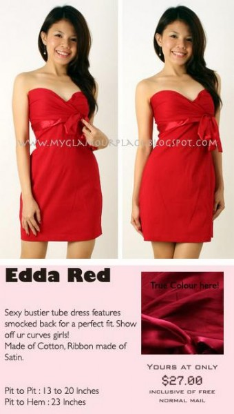 edda red $13
