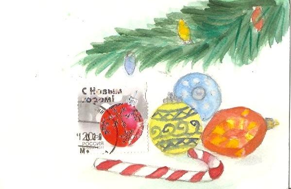 зим открытка 1