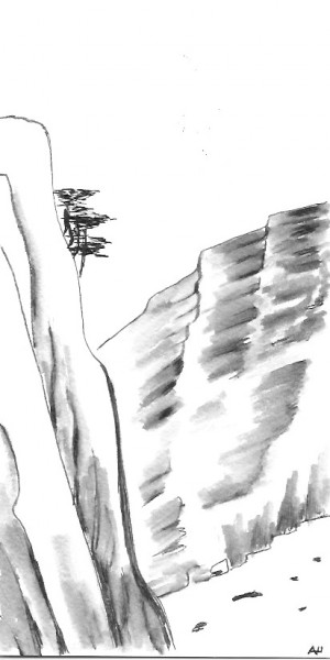 Открытка горы
