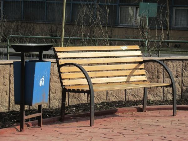 скамейка оригинал