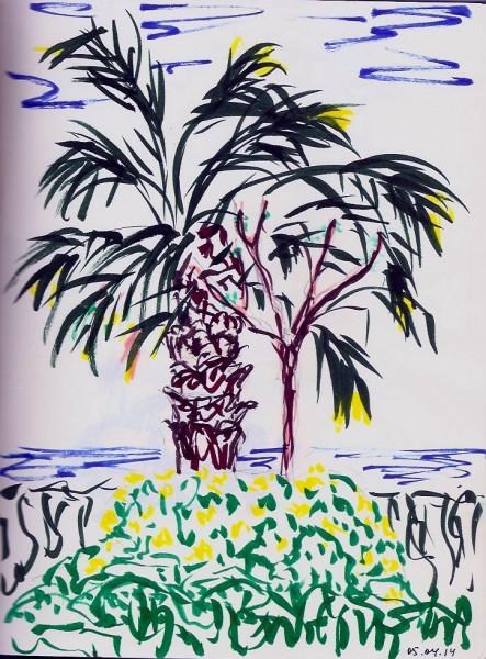Веселая пальма