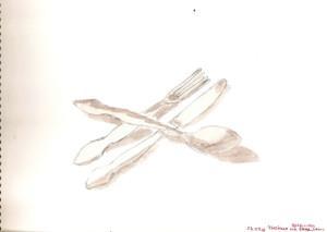 Ложка вилка нож