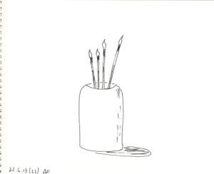 кисточки свечки
