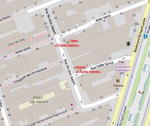 Нумерация домов на улице Никола Аппер