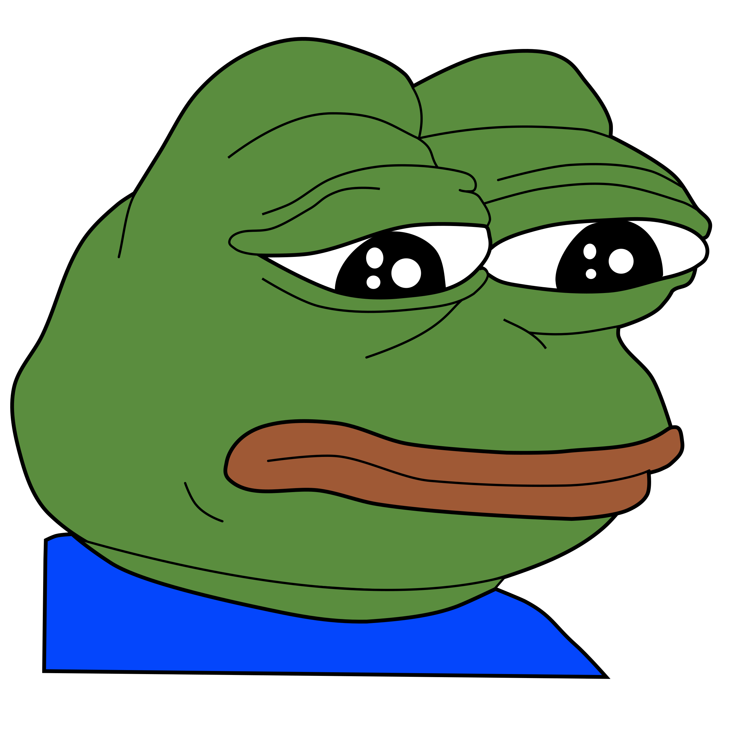 как буквально создать картинку грустная жаба управляется