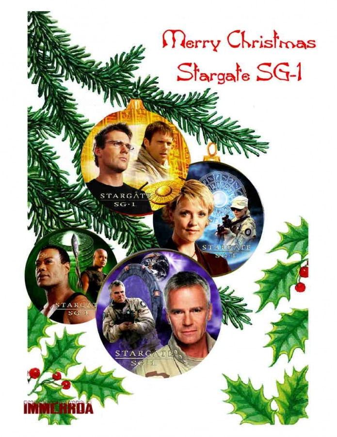 Merry Christmas from Stargate SG-1