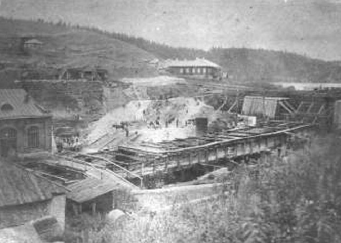 реконструкция домны1910