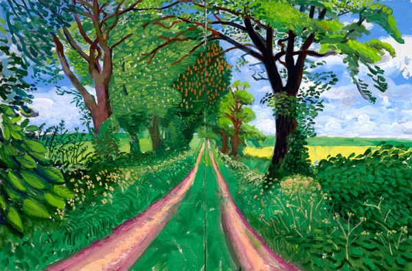 david-hockney-late-spring-tunnel-may-2006