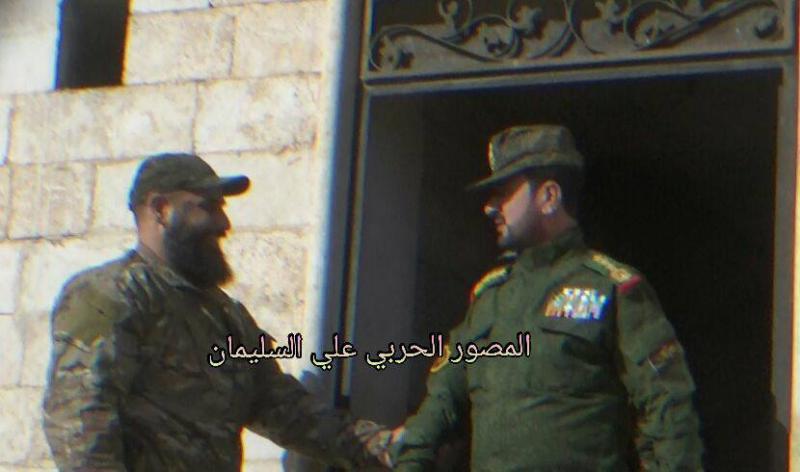 Бригадный генерал Сирийской арабской армии Сухель Хасан