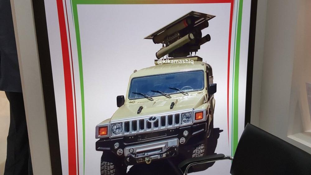 Иранский противотанковый модуль Pirooz