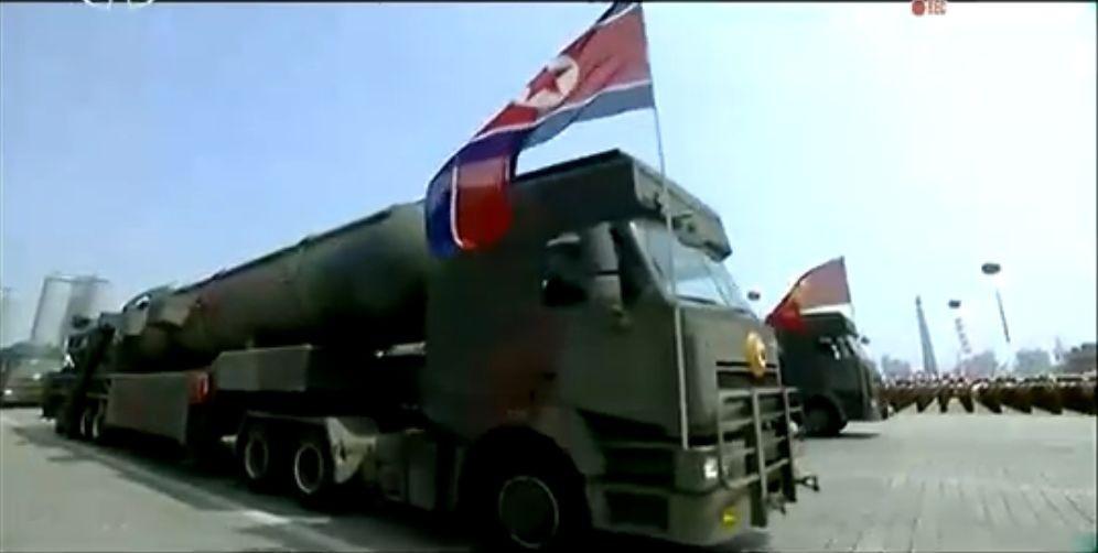 Военный парад в Пхеньяне. 15.04.2017 20