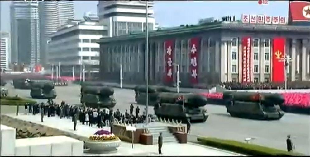 Военный парад в Пхеньяне. 15.04.2017 16