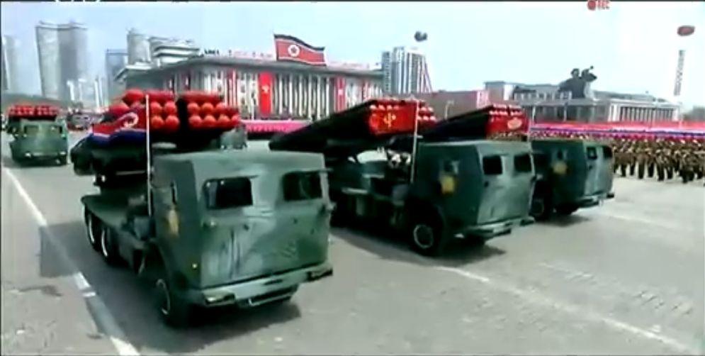 Военный парад в Пхеньяне. 15.04.2017 9