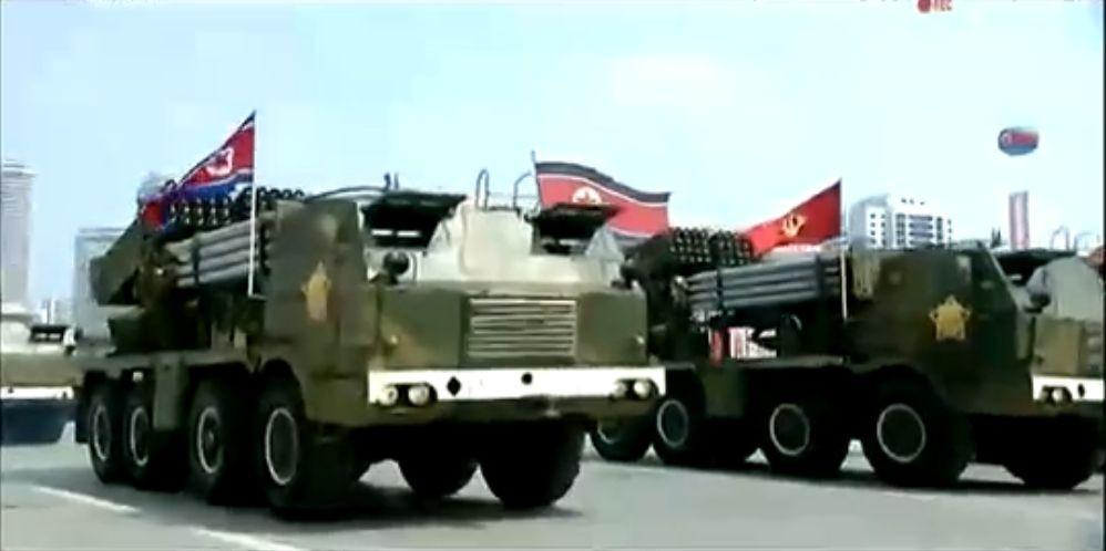 Военный парад в Пхеньяне. 15.04.2017 8
