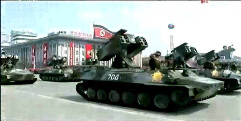 Военный парад в Пхеньяне. 15.04.2017 7