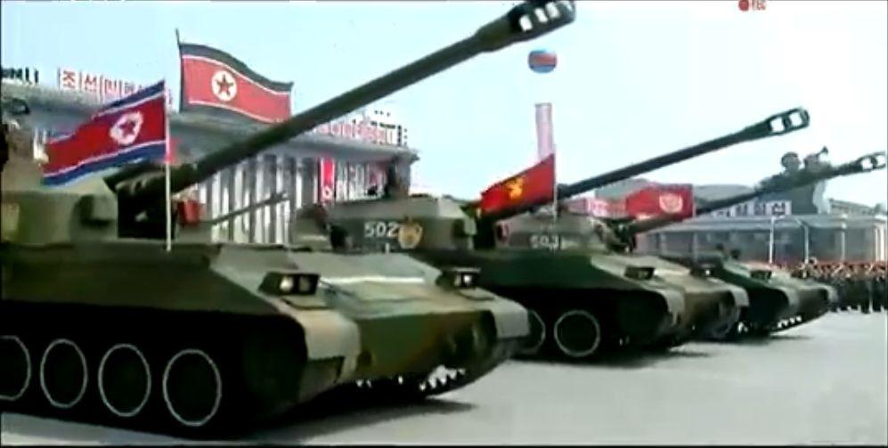 Военный парад в Пхеньяне. 15.04.2017 5