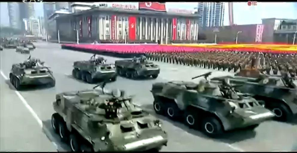 Военный парад в Пхеньяне. 15.04.2017 4
