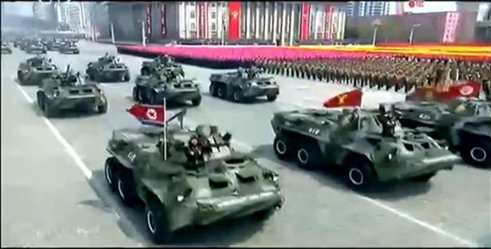 Военный парад в Пхеньяне. 15.04.2017 3