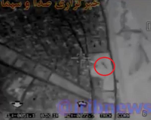 Видео ударов иранских ракет по позициям ИГ в сирийской провинции Дейр-эз-Зор